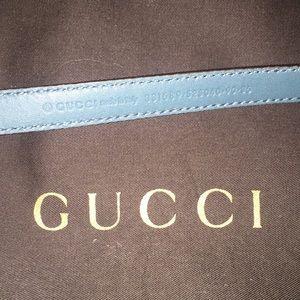Gucci Accessories - 💯% Authentic Gucci Green Belt